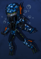 Commish - Chibi Sea Storm by spiketail94