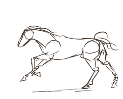 Horse Running Animation by Kelkis