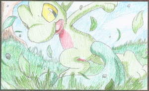 PokeCard entry numba 1 by crayon-chewer