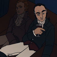 Burr and His Ghost by Publius-Reporter