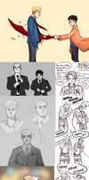 Eruri Sketchdump by Mandy-Chan831
