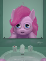 Pinkie Pie Reflects by karidyas