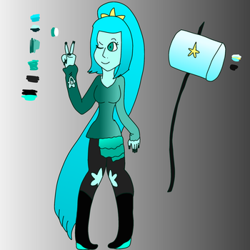 {SUOC} Blue Apatite Fullbody by Midnight-Colors