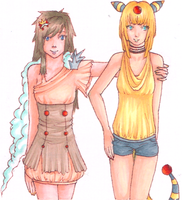 Tei and Amp by LadyDragonKia