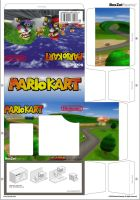 Mario Kart Papercraft Boxzet by CJRogue