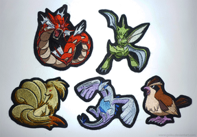 SOLD OUT: Pokemon patches - batch 1 by goiku