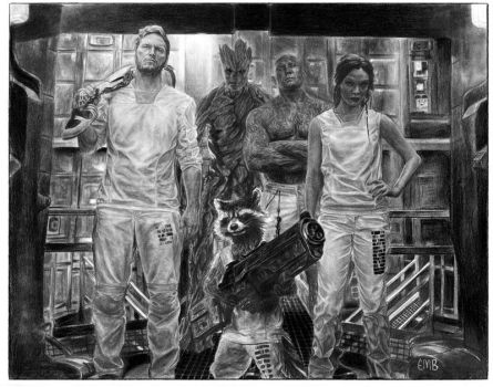 Guardians of the Galaxy by emorganb94