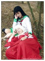 Inuyasha and Kagome cosplay by DiaryDream