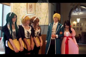 Kaichou wa maid-sama cosplay by Dameley
