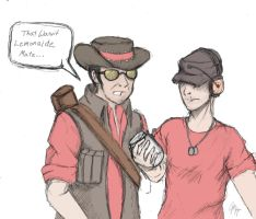TF2: Sniper's Lemonade by TheIronWillAlchemist