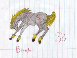 Hell Horse Broch by Zs99