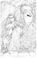 All New Soulfire #5 Cover Pencils by vmarion07
