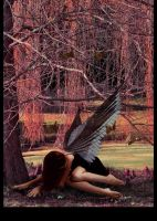 Even Angels fall ... by AveEnd