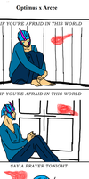 Optimus x Arcee: Safer in my arms by celtakerthebest