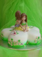 Spring Fairy Cake by Verusca
