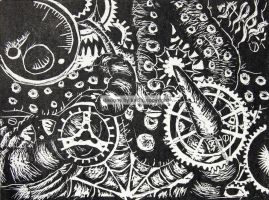 untitled gears and tentacles 1 by studioexperiment