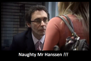 Naughty mr hanssen by Whogal1