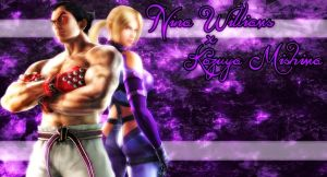 Nina Williams X Kazuya Mishima by Assassin-Lady