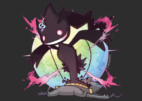 Mega Banette (FAN-MADE) by Dragonith