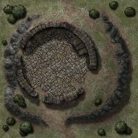 Ruined Tower TileDT30 by Madcowchef