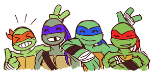 Turtlebros by SonicRocksMySocks