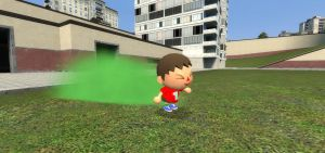 Villager's stink bombs by soniclover562