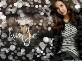 Happy Birthday Kwon Yuri3 by TenshiTama