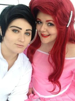 Ariel and Eric by Ballistic-Nightmare
