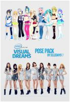 Q!Girls - Intel Core: Visual Dreams. by ElleDays