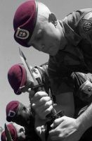 82nd Airborne Berets by SkyClad-FireSpark