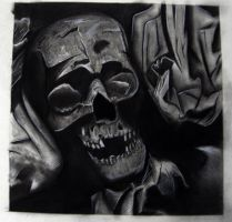 Skull Grid Charcoal by CMA3D