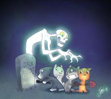 Graveyard Gang by DaveJorel
