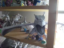 papercraft areodactly by legendarydragonstar