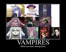 vampire comparison by spartan049820