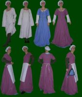 Pink Kirtle Layers Final by Kathelyne