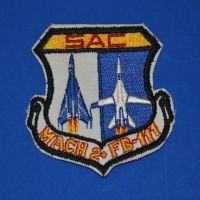 SAC Mach 2+ FB-111 Patch by F16CrewChief