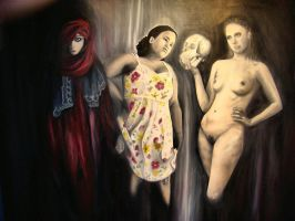 Four Women by efroend