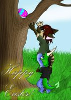 Happy Easter by kungfudemoness