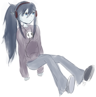 Marcy floating around by Kairuza