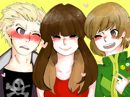 Thank you Persona 4! by HaileyPie