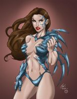Witchblade by devgear by MarcBourcier