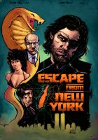 Escape from NY Garry Brown by SpicerColor