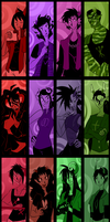 Fantrolls Bookmark Collection by 7-Days-Luck