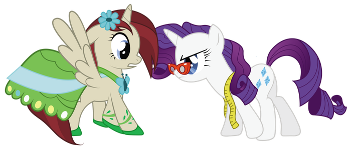 Request ~ Akira and Rarity by lookitslaurie
