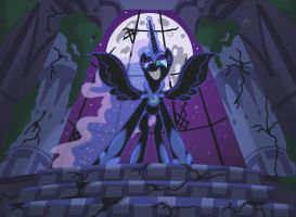 Nightmare Moon by Template93