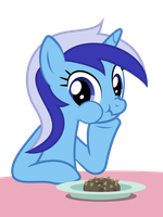 Minuette eats donuts by camanalli