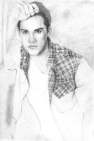Michael Trevino 2 wip by El-i-or