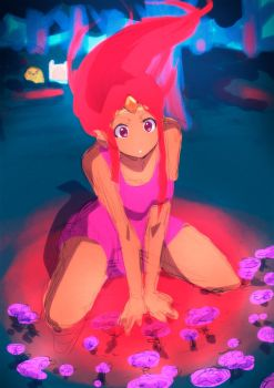 Flame Princess :Rough: by moxie2D