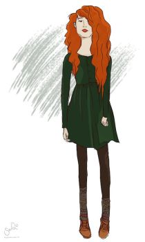 Red Head by simisanerd