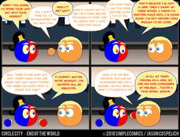 CC446 - End of the World 46 by simpleCOMICS